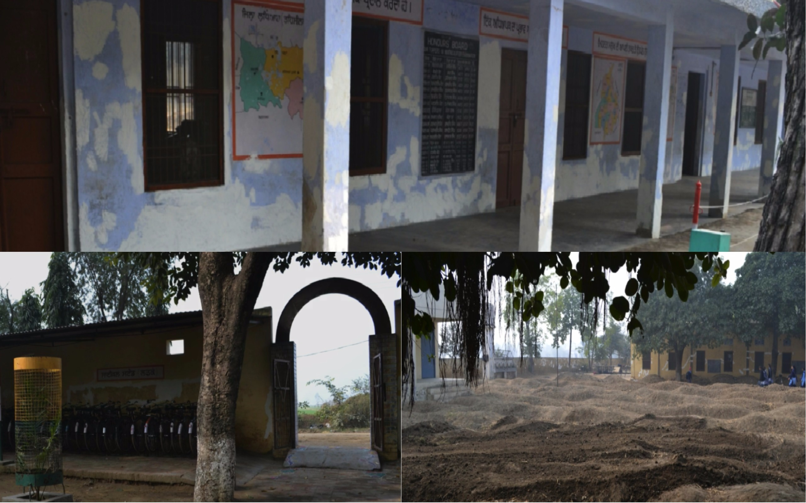 Ghudani Kalan village school was grappling with various problems including flooding of the main assembly area during rainy season.