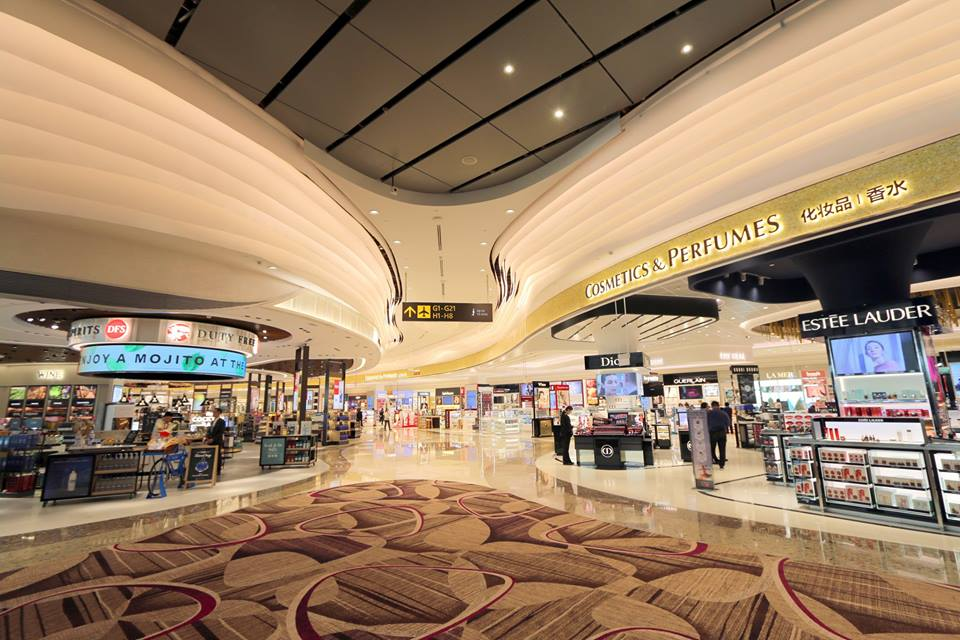 The retail outlets are all stocked up and ready to start operations at the new T4 terminal at Changi Airport.