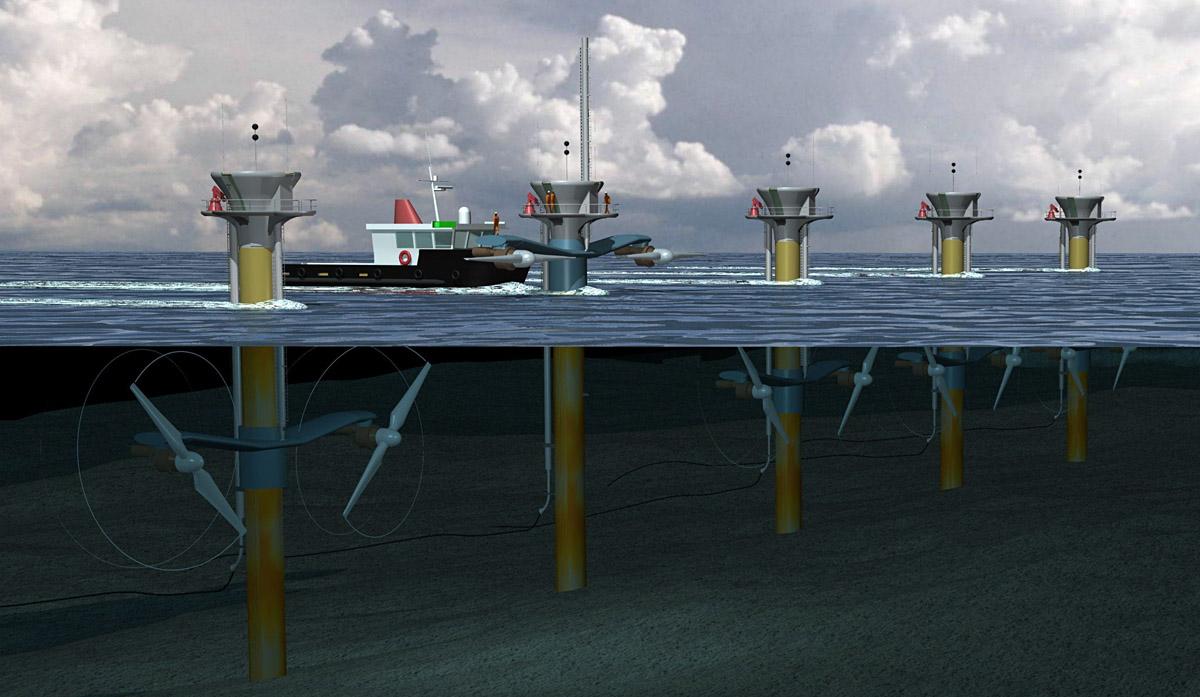 A tidal project.