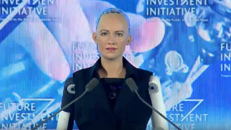 Sophia has become the first robot in the world to be granted Saudi Arabia's citizenship.