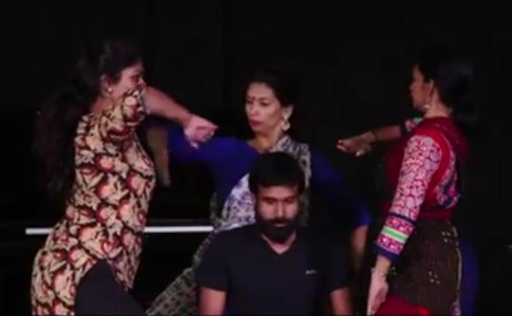 Soti Rpd during a rehearsal.