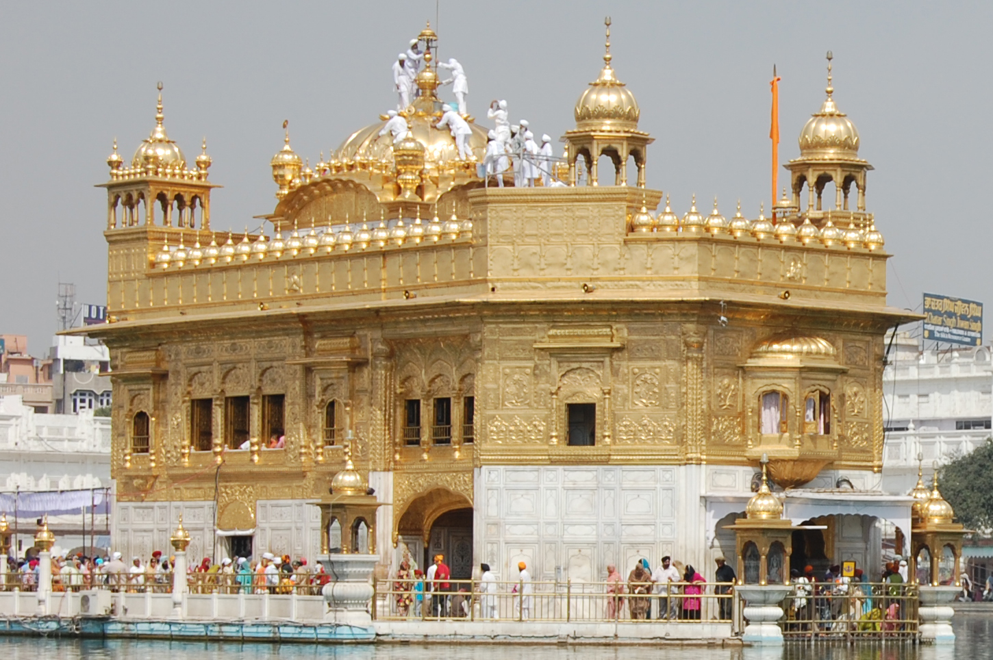 The Golden Temple, one of the holiest Sikh gurdwaras. Photo courtesy: Wikimedia