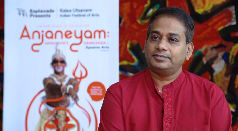 Aravinth Kumarasamy, the artistic director of Apsaras Arts