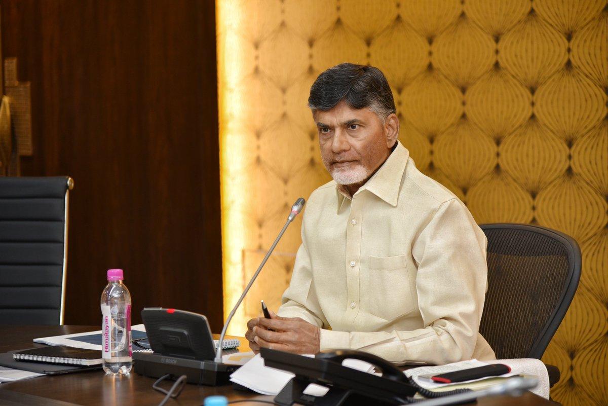 Chandrababu Naidu, Chief Minister of Indian State of Andhra Pradesh.