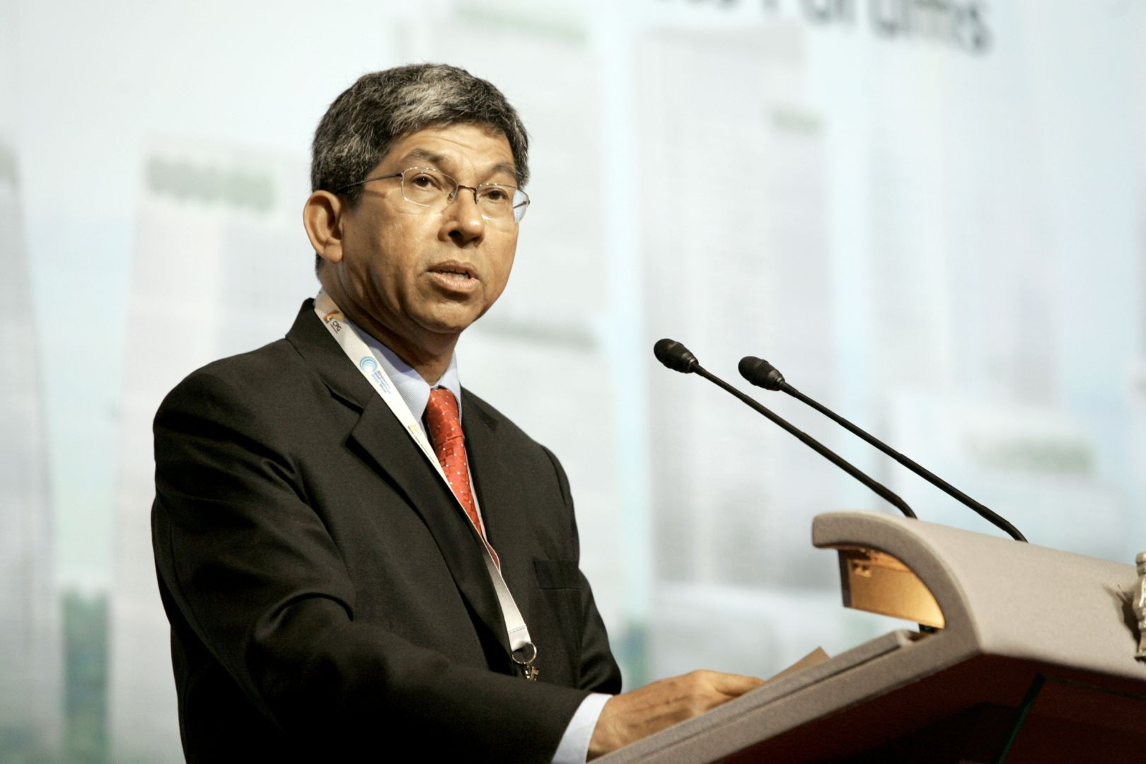 Yaacob Ibrahim, Minister for Communications and Information of Singapore.