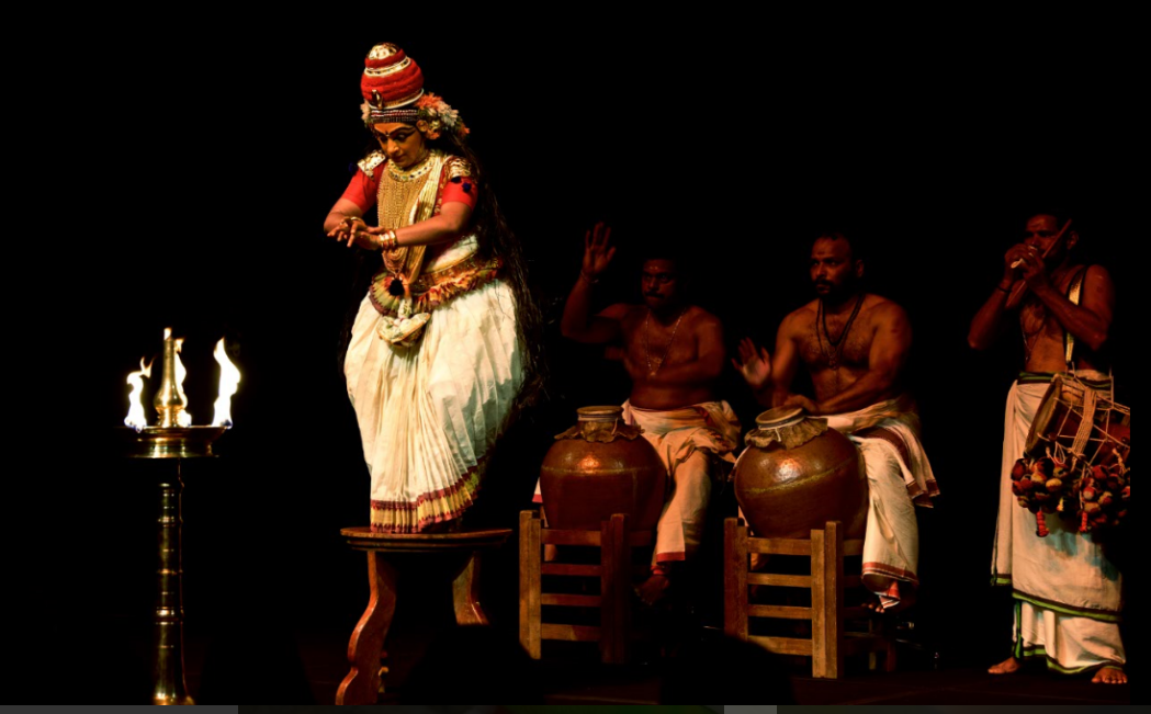 """I think Koodiyattam, Nangiar Koothu manifest an awareness of a history of art, but also carry this awareness forward in its practice""- Kapila Venu"