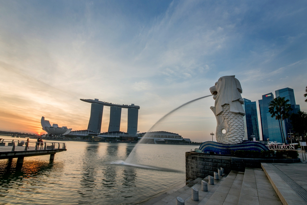 Singapore is the third richest country in the world.