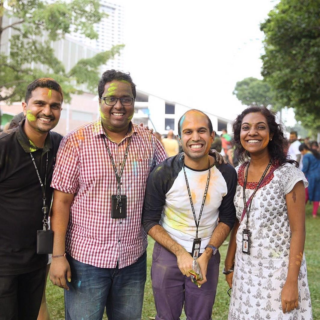 From left - David Pandarakannu, Sai Akileshwar, Shridar Mani and Rajeswari Ramachandran Photo courtesy: Koh Sian Eng