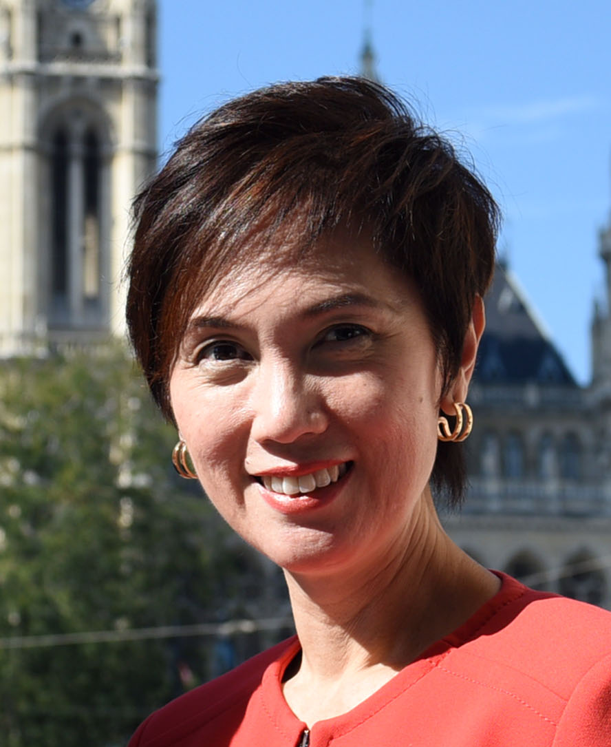 Josephine Teo, Second Minister for Manpower and Home Affairs of Singapore.