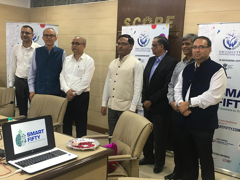 The Smart Fifty initiative being launched in New Delhi.