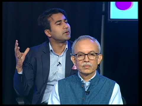Sanjeev Aiyar, Pan IIM Alumni Association president, SIngapore, at the NDTV 24x7 TV show announcing the launch of the initiative.