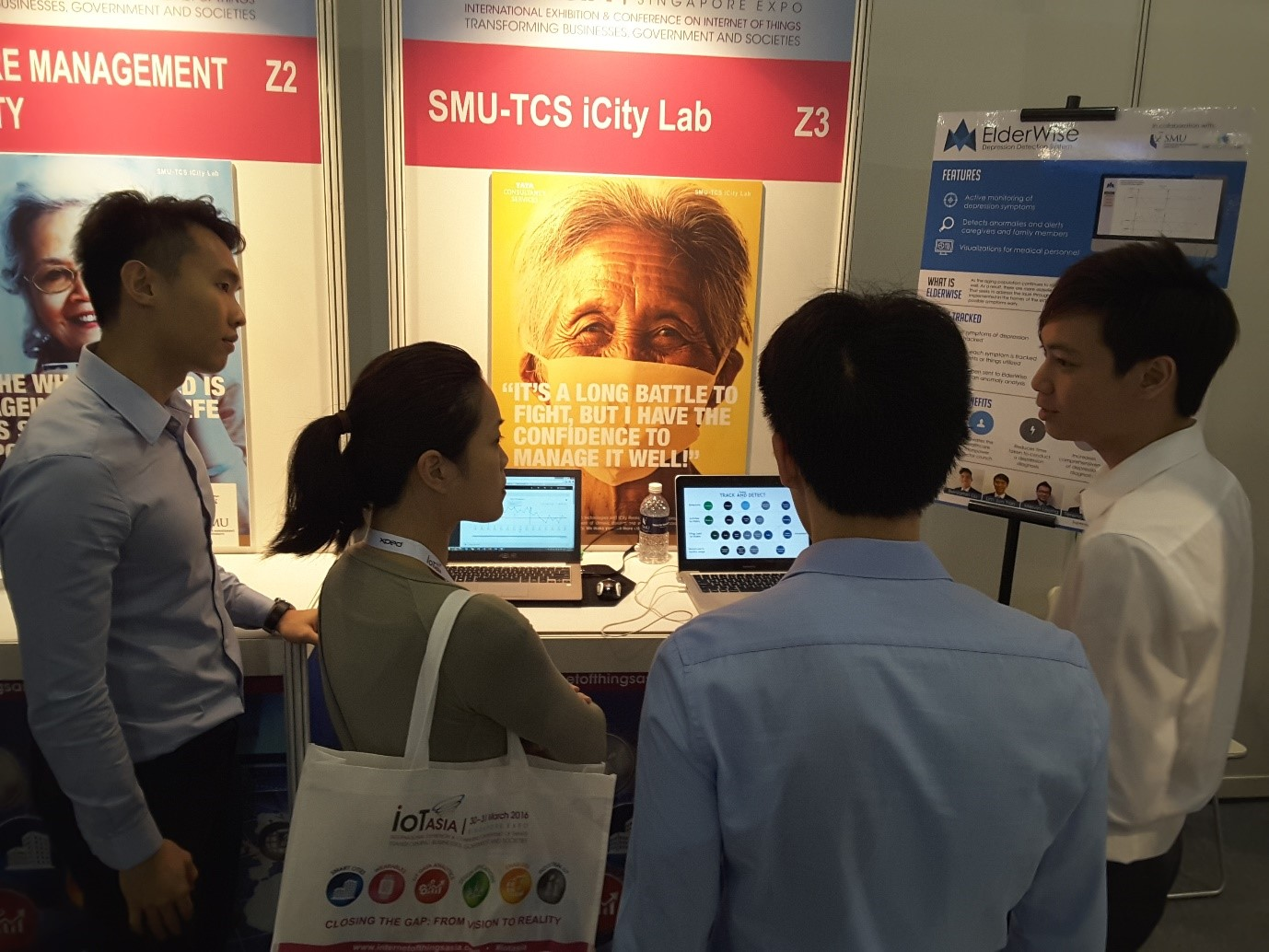 SMU-TCS iCity Lab will focus on developing intelligent infrastructure, software and applications in Singapore.