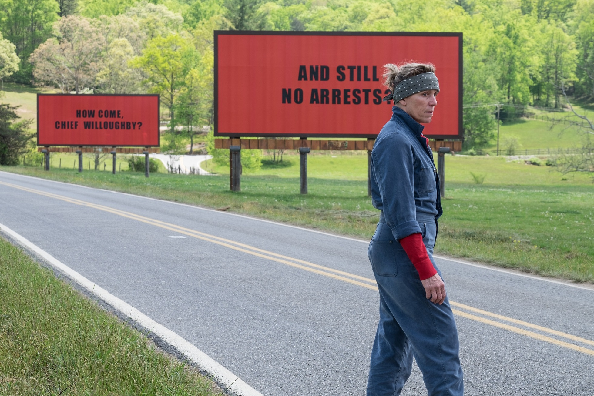 'Three Billboards Outside Ebbing, Missouri' is an acclaimed film from Academy Award winning British filmmaker Martin McDonagh.