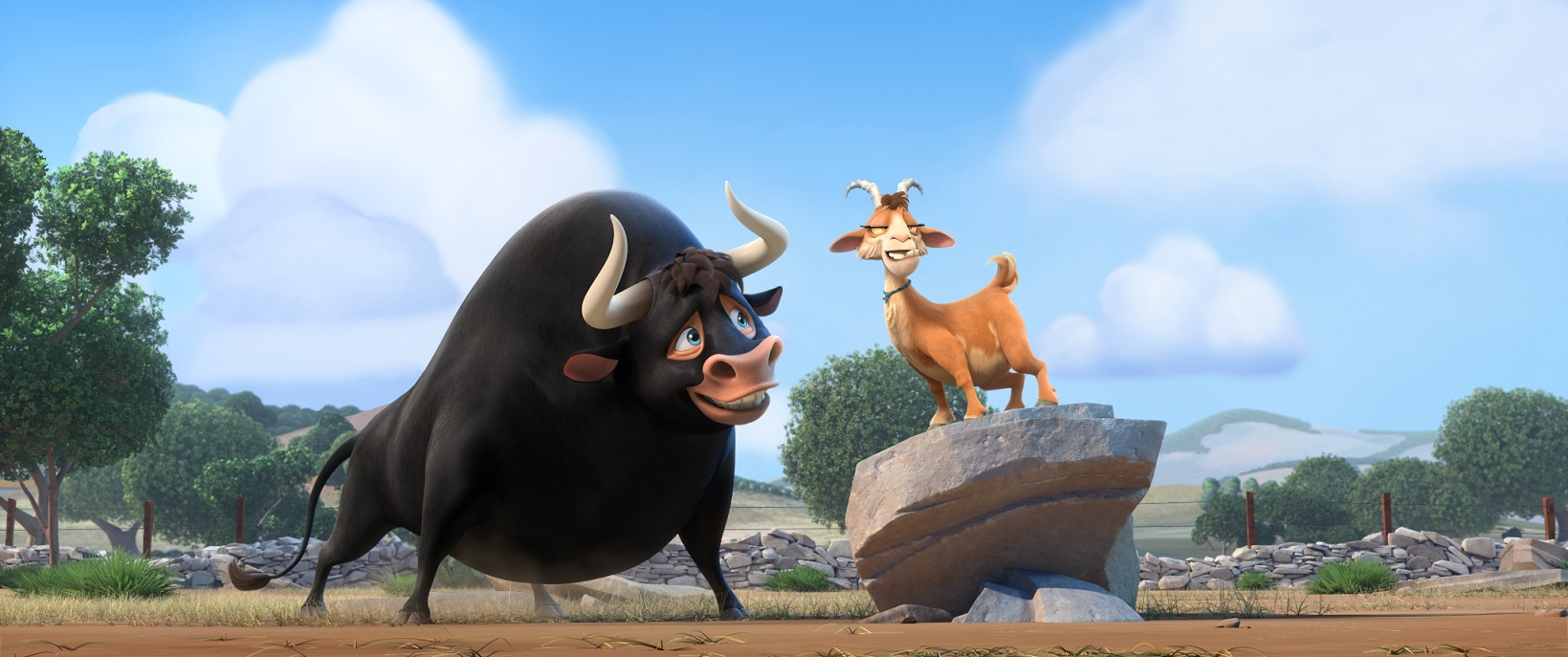 'Ferdinand' is a children's adventure-comedy centred around a fighting bull with an identity crisis.