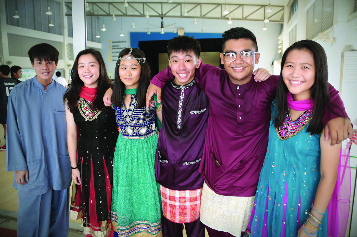 Singapore is a multiracial and multicultural society where people of different races and religions live harmoniously.