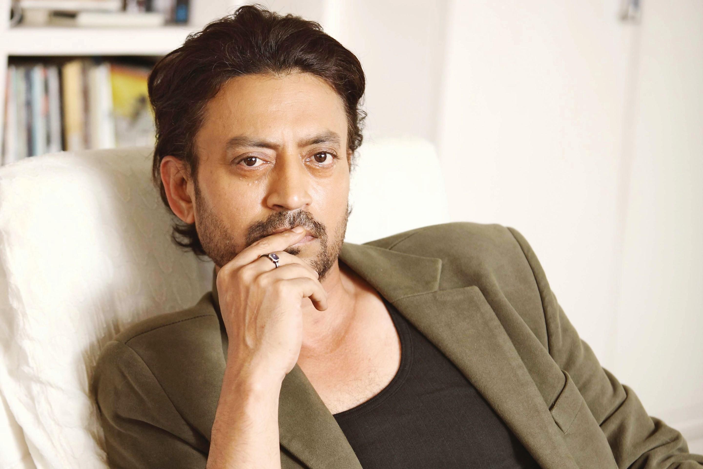 Indian actor Irrfan Khan.