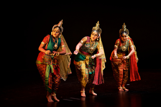Three queens of Dashratha (father of Lord Rama)- Kaushalya, Kaikeyi and Sumitra also form the narrative of Anjaneyam's Ramayana.