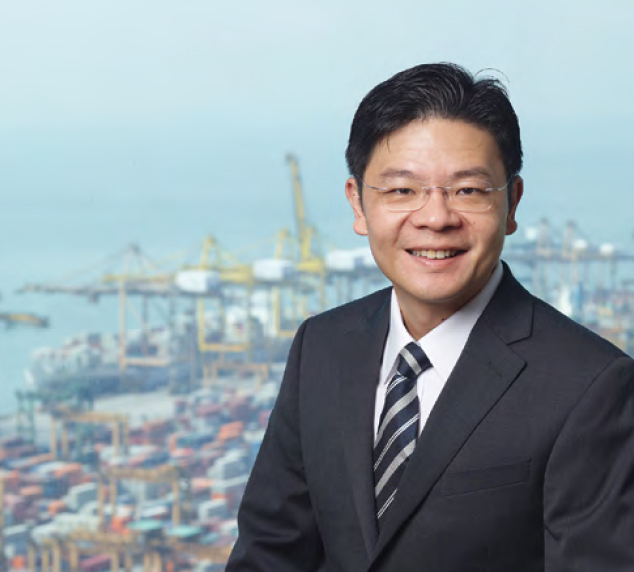 Lawrence Wong, Minister for National Development.