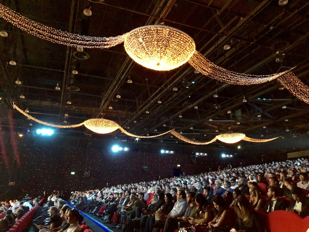 Large number of people turned out to see the premiere of 'Star Wars: The Last Jedi' during the closing ceremony of DIFF.