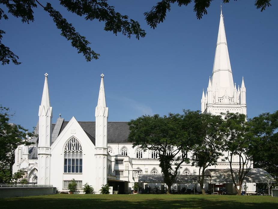 St Andrew's Cathedral in Singapore.