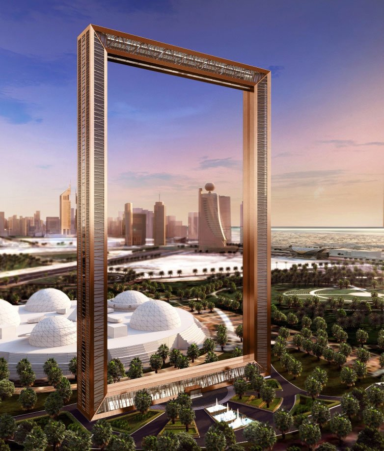 Dubai Frame will be opened to the public from next week.