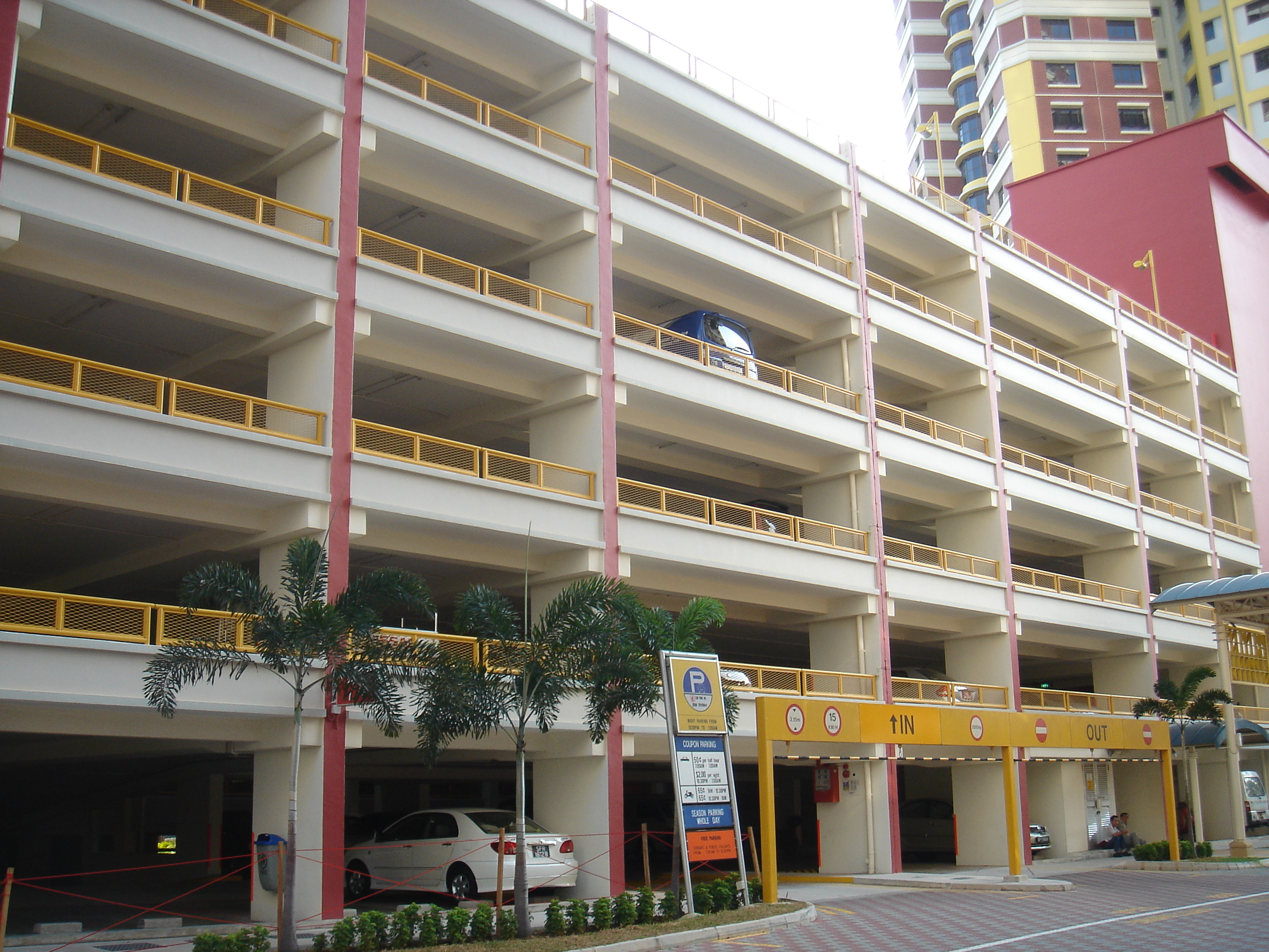 Tailgating detection system will be installed in car parks of Singapore from next year.