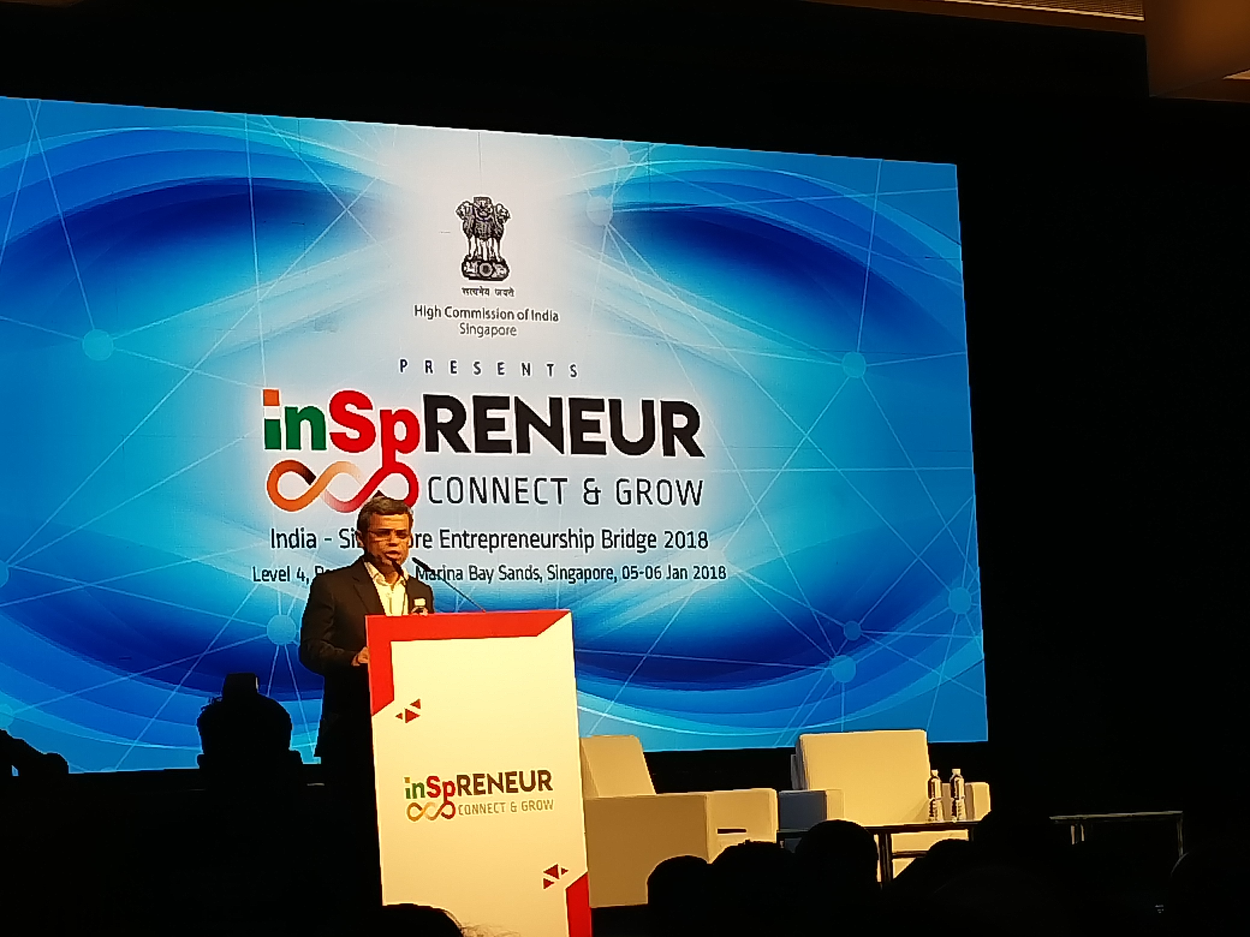 HE Jawed Ashraf, High Commissioner of India, Singapore, highlighted the potential and desire for partnership between India and Singapore