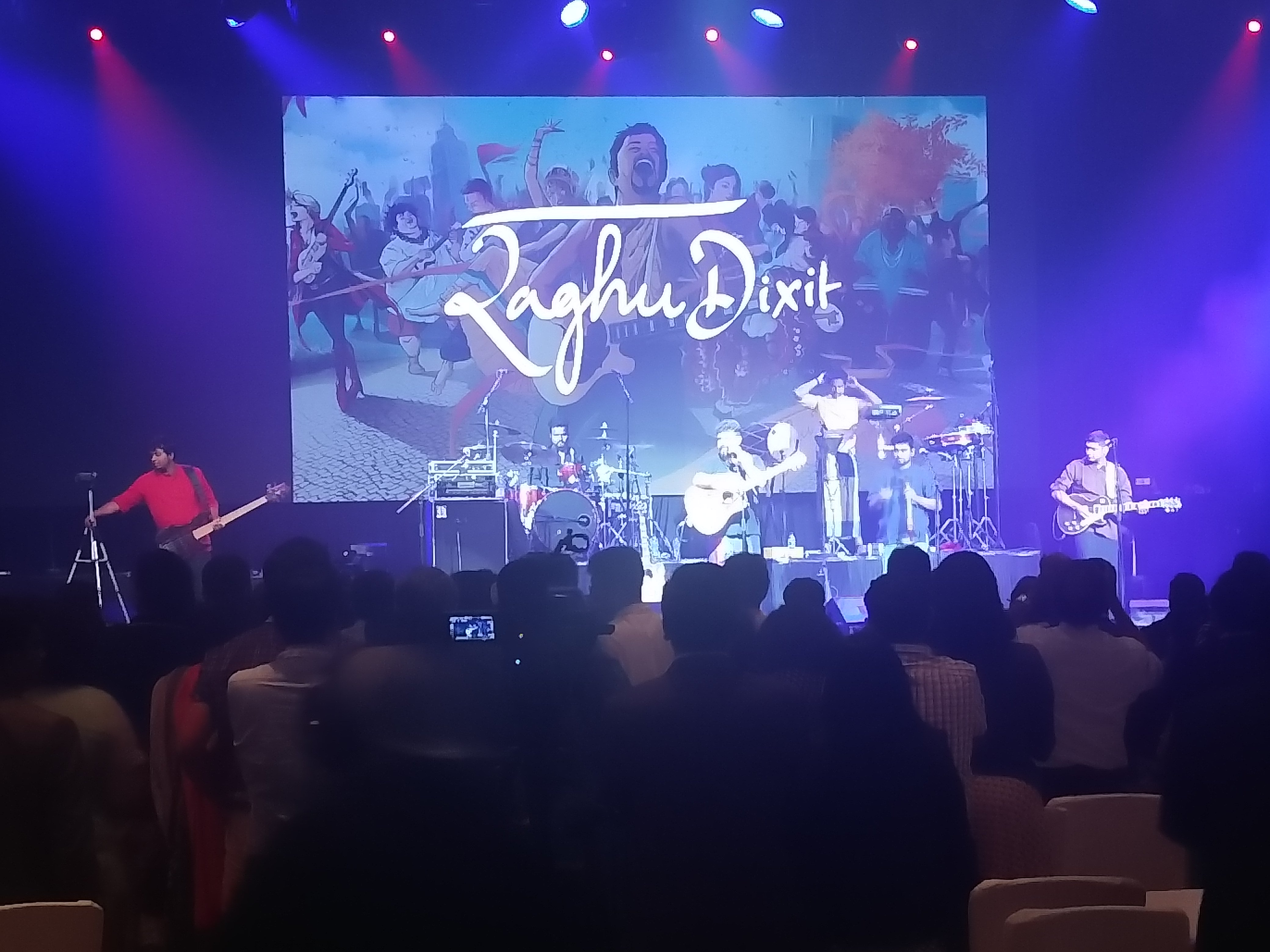 Fusion maestro Raghu Dixit's stellar show rounded off an exciting and productive Day 1 of PBD 2018 in Singapore.