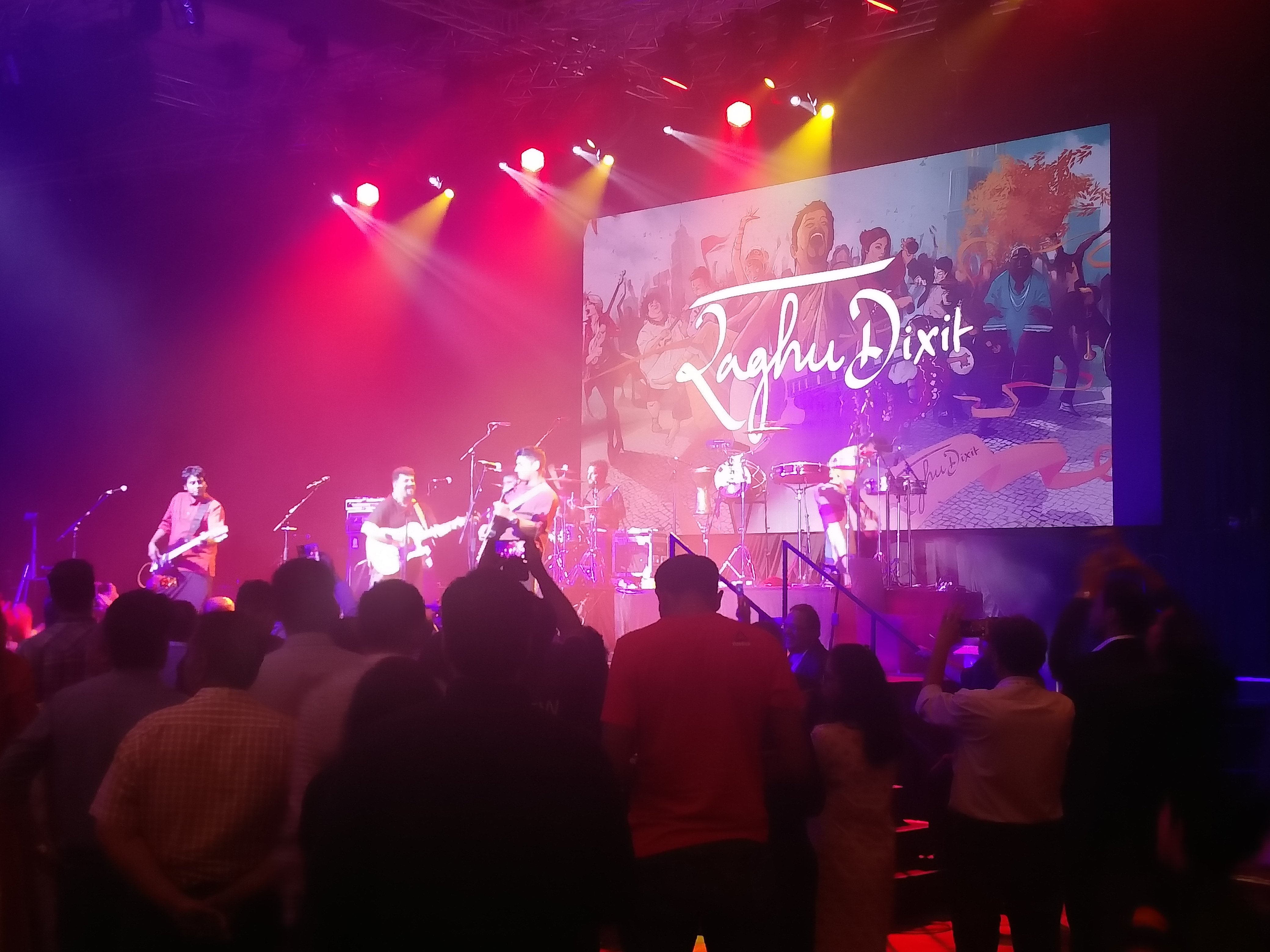 The Raghu Dixit Project brings down the house with their performance at the ASEAN India PBD.