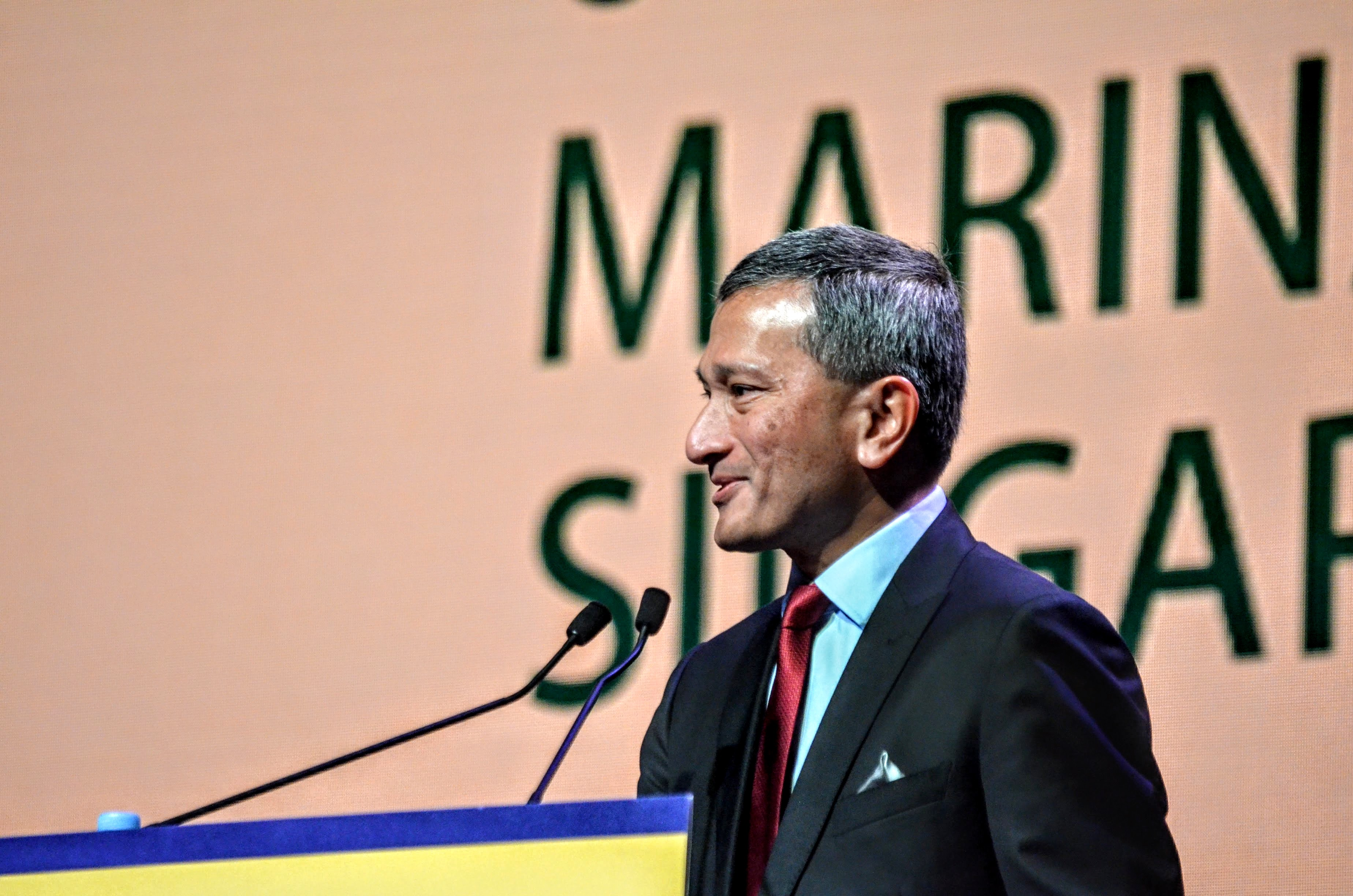 Minister for Foreign Affairs of Singapore Dr Vivian Balakrishnan talked about for taking the step of economic integration of India and ASEAN.