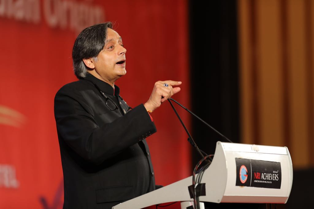 Shashi Tharoor stressed that India is a unique democracy.
