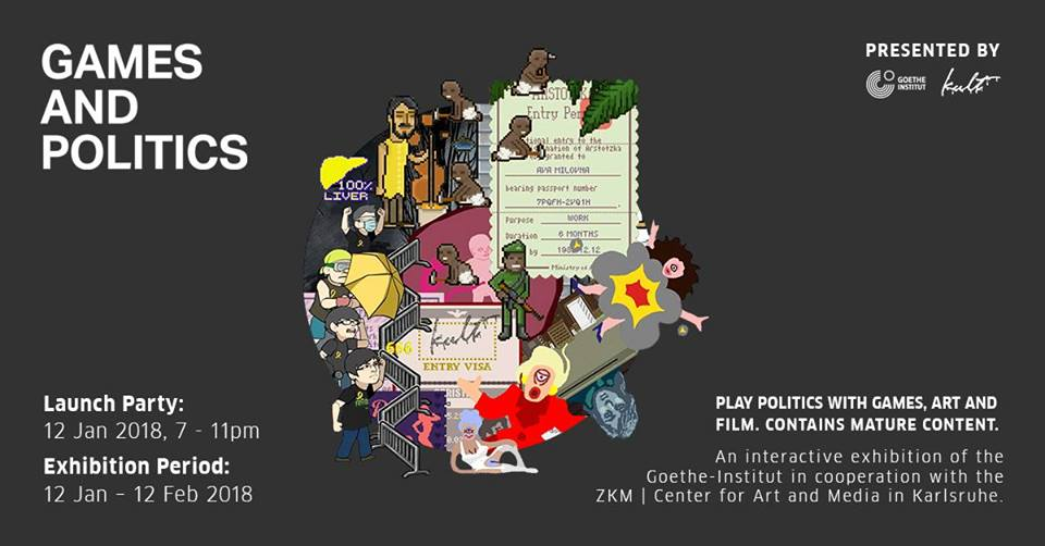 the exhibition encourages play and calls upon the audience to question the position of games in society today.