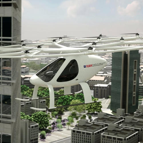 Dubai to launch world's first automated air taxis