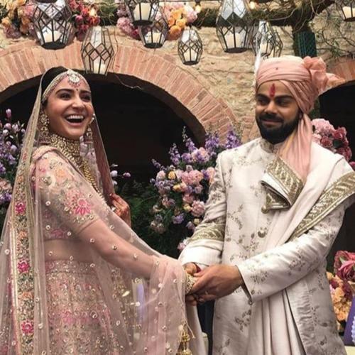 In pics: Anushka Sharma, Virat Kohli tie the knot in Italy