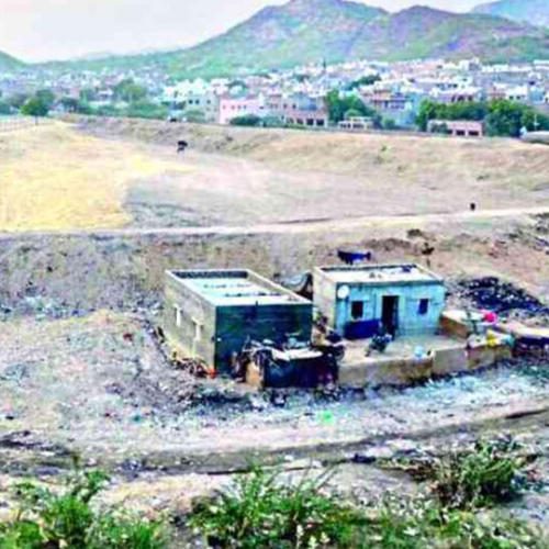 NRI cleans dead water reservoir, removes 35k tons of garbage