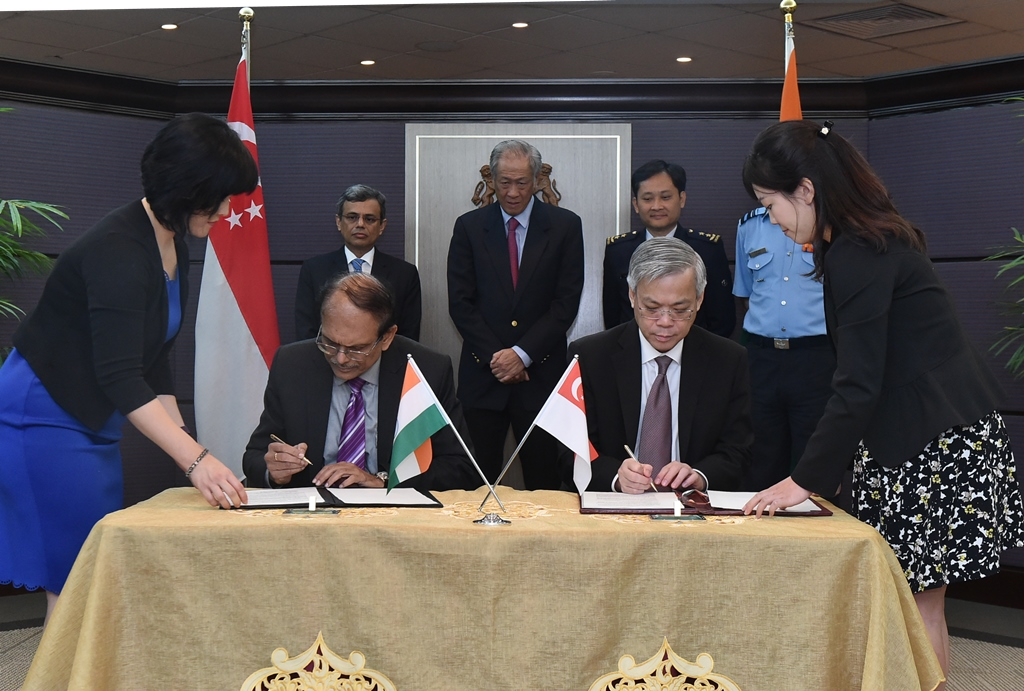 Singapore India Renew Air Force Bilateral Agreement Connected To India