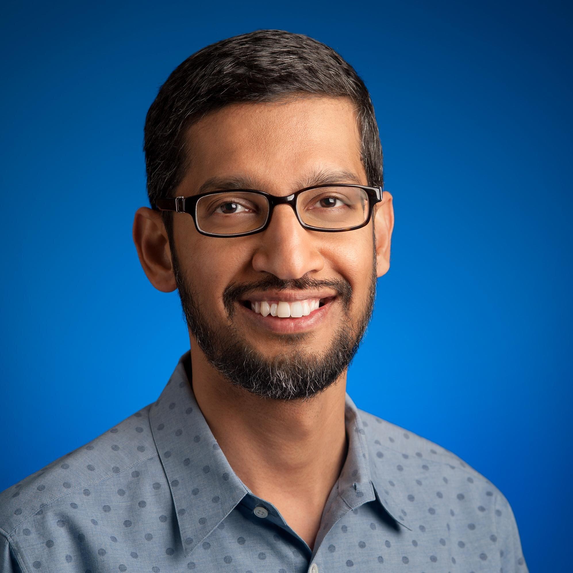 Google's CEO Indian-American Sundar Pichai