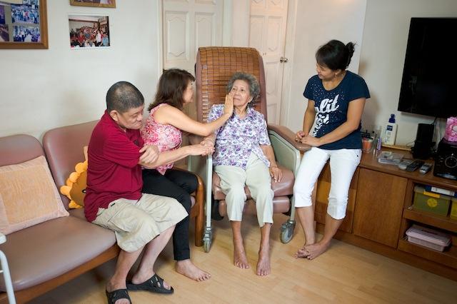 Caregiving in Singaporean society