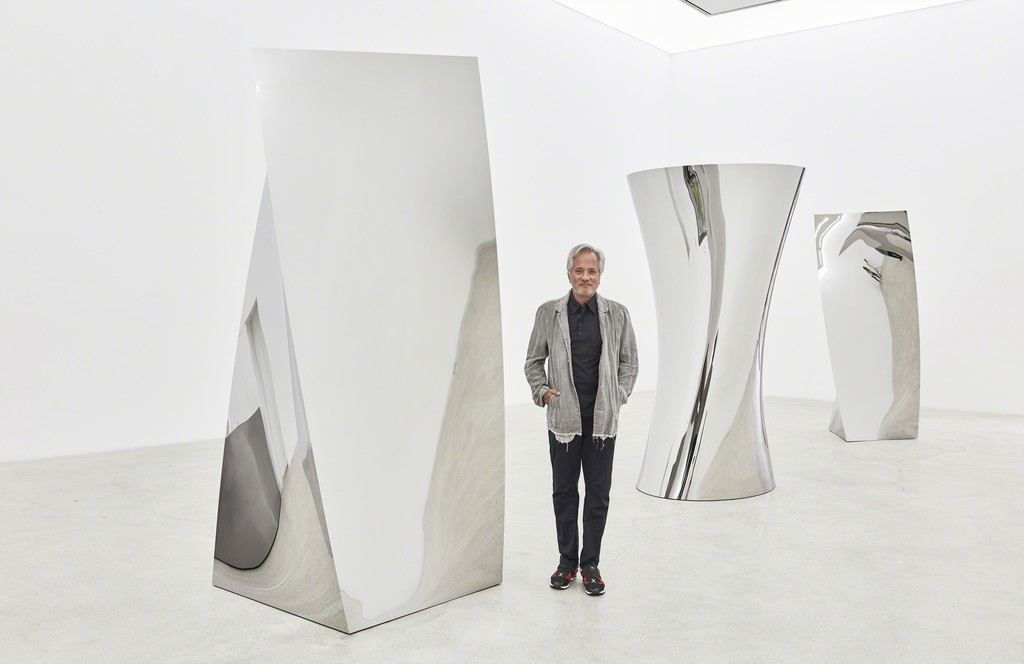 British-Indian sculptor Anish Kapoor