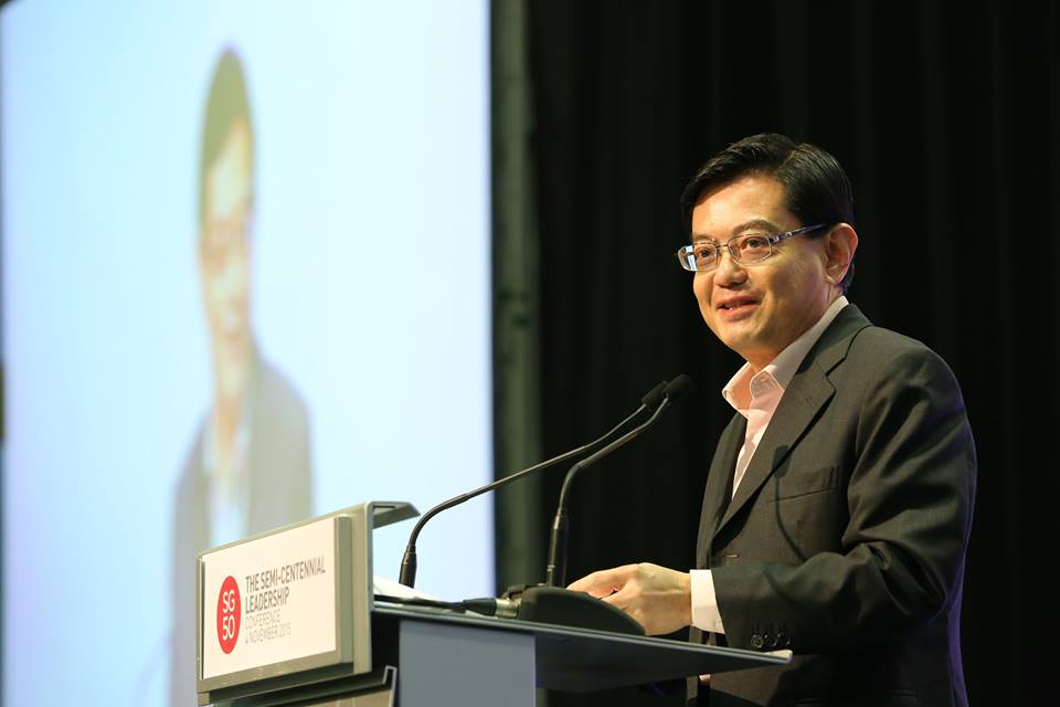 Singapore Finance Minister Heng Swee Keat
