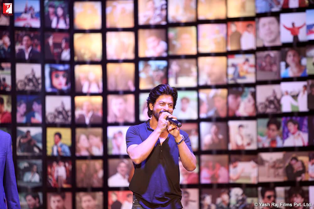 Shah Rukh Khan during the promotion of his film Fan Photo courtesy: Yash Raj Films