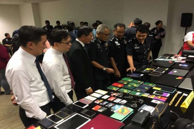 Items seized during the raid online fake relationship