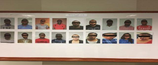 Prime suspects of fake online relationship scam