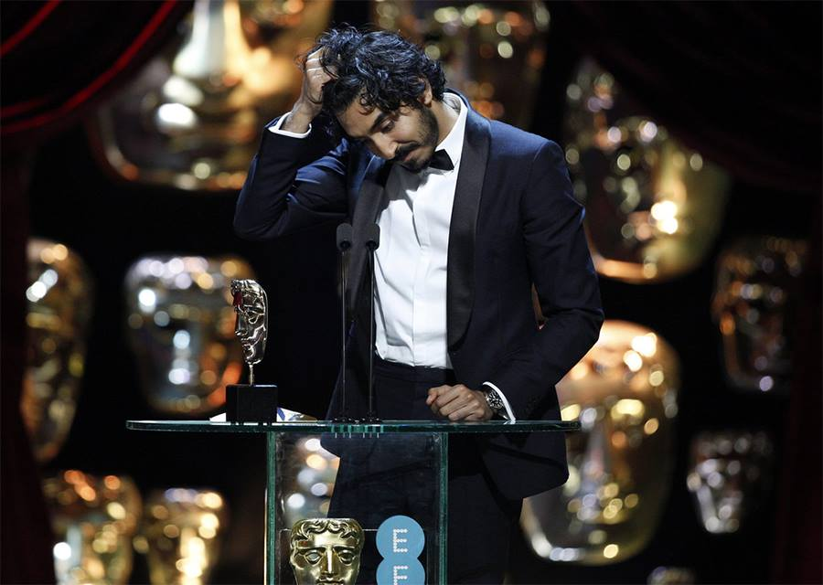 Dev Patel at BAFTA