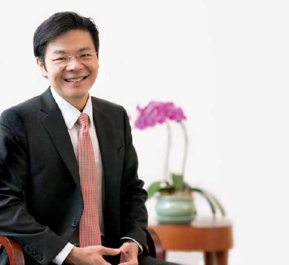 Second Finance Minister Lawrence Wong