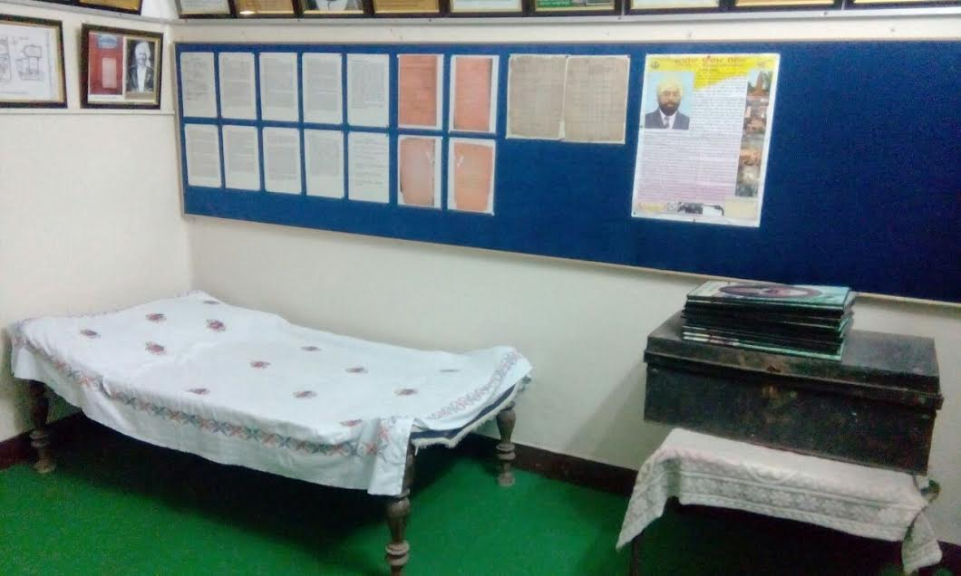 A small museum has been set up at Central Khalsa Orphanage