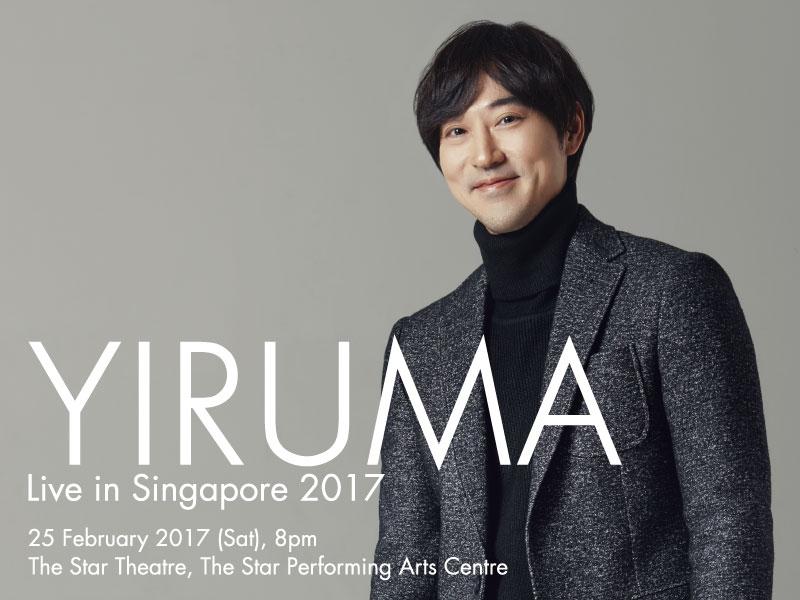 Yiruma Live in Singapore 2017