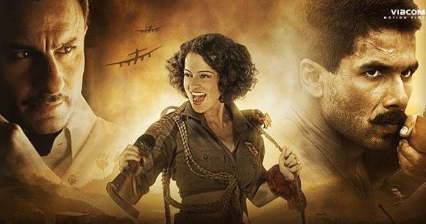 Kangana Ranaut in Rangoon