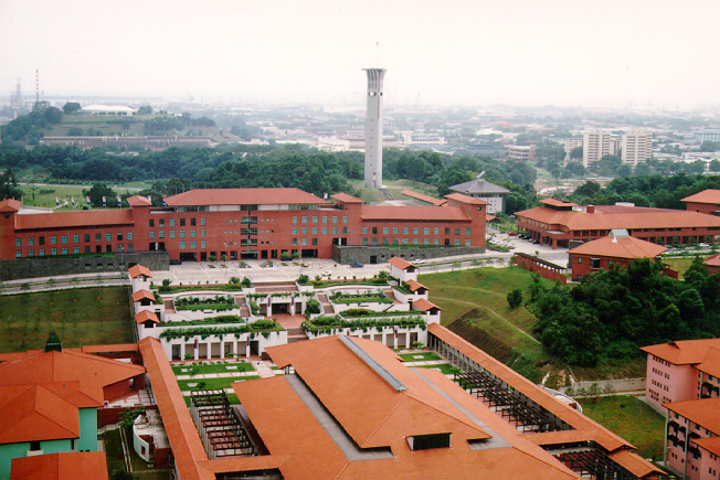 Aerial view of the Safti City