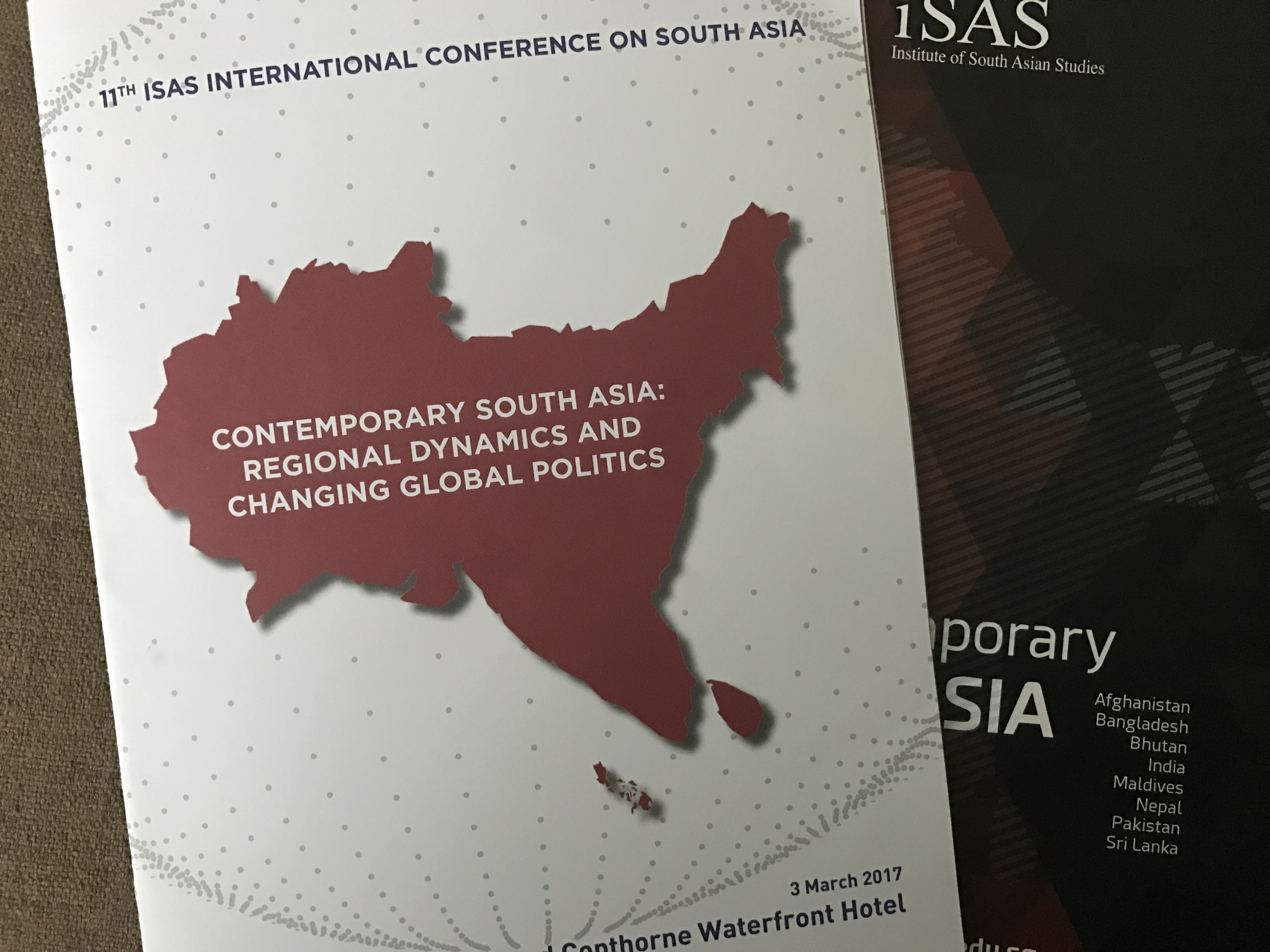 NUS, ISAS, International Conference, Institute of South Asian Studies, National University of Singapore, connectedtoindia